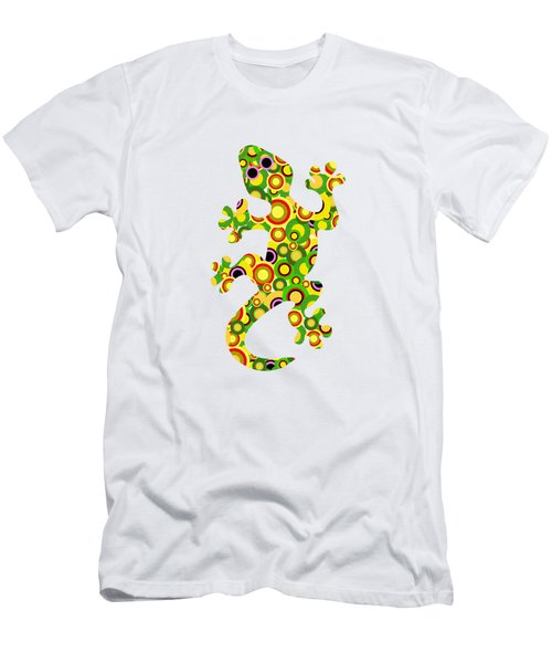 Little Lizard - Animal Art Men's T-Shirt (Athletic Fit)