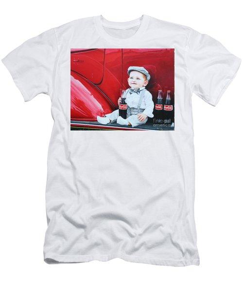 Little Mason Men's T-Shirt (Slim Fit) by Mike Ivey