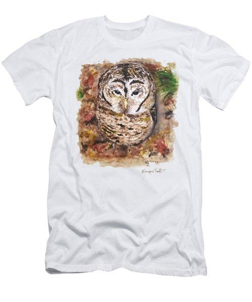 Little Owl Men's T-Shirt (Athletic Fit)