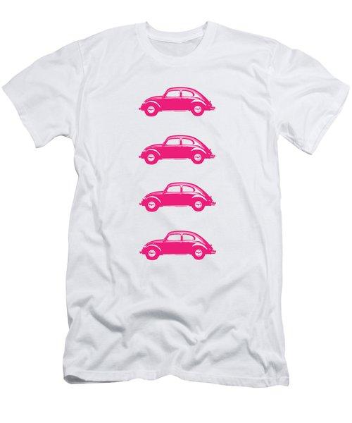 Little Pink Beetles Men's T-Shirt (Athletic Fit)