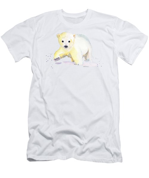 Little Polar Bear Men's T-Shirt (Athletic Fit)