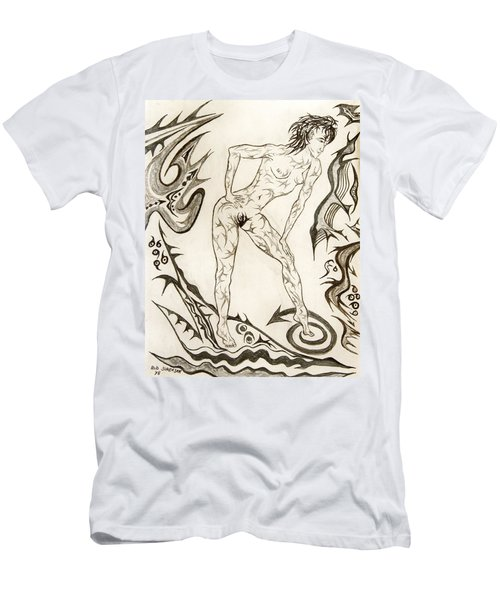 Live Nude 3 Female Men's T-Shirt (Athletic Fit)