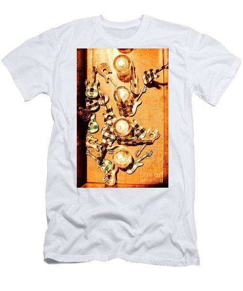 Live Rock Show Men's T-Shirt (Athletic Fit)