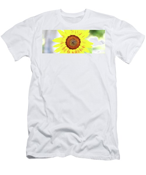 Live Simply Bloom Wildly Men's T-Shirt (Athletic Fit)