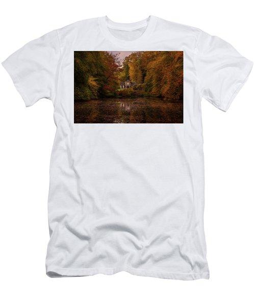 Living Between Autumn Colors Men's T-Shirt (Athletic Fit)