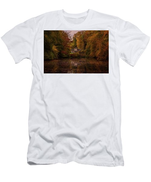 Living Between Autumn Colors Men's T-Shirt (Athletic Fit)