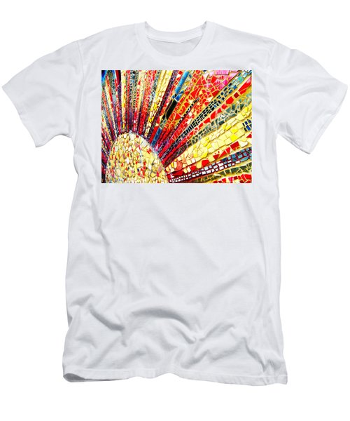 Living Edgewater Mosaic Men's T-Shirt (Athletic Fit)