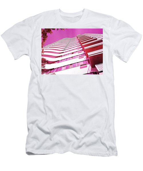Living Pink Men's T-Shirt (Athletic Fit)