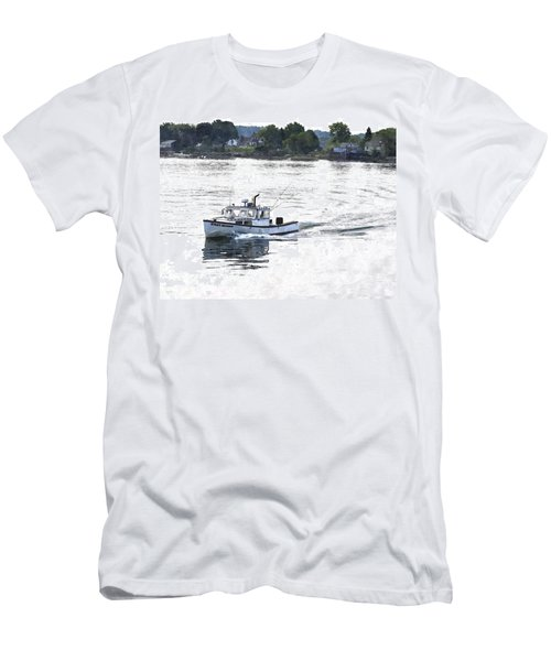 Lobster Boat Lbwc Men's T-Shirt (Athletic Fit)