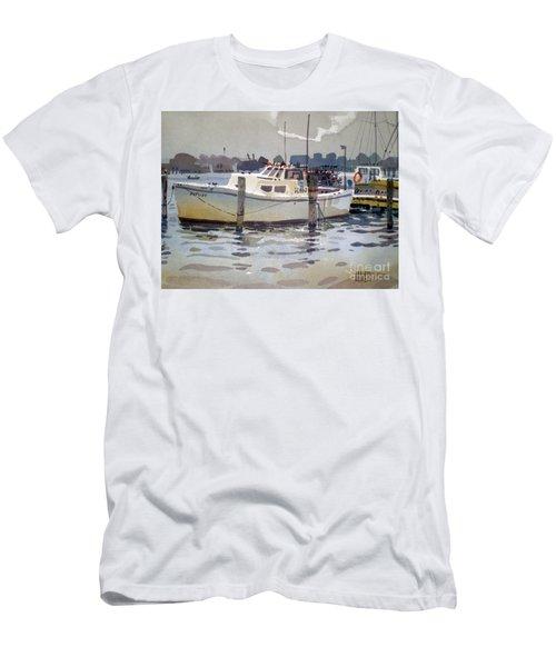 Lobster Boats In Shark River Men's T-Shirt (Athletic Fit)