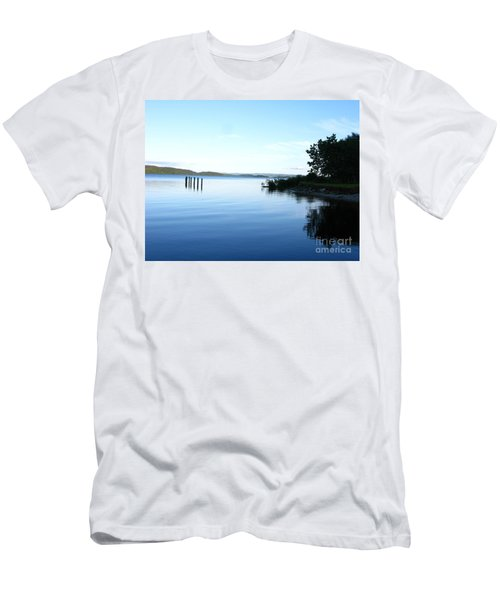 Loch Lomond Men's T-Shirt (Slim Fit) by Mini Arora