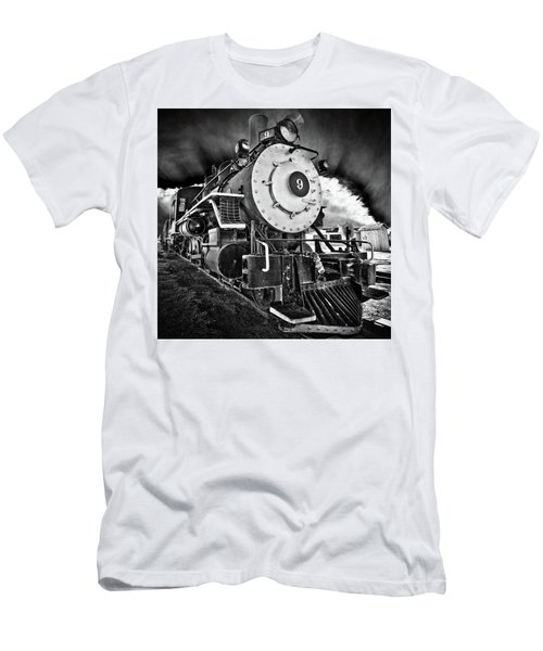 Locomotive Nine Men's T-Shirt (Athletic Fit)