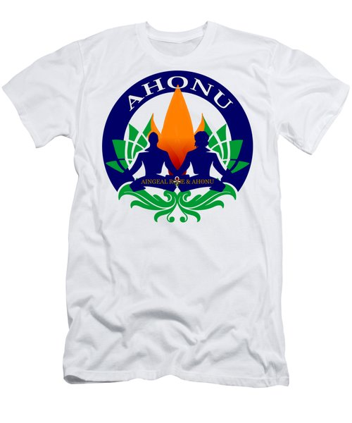 Logo Of Ahonu.com Men's T-Shirt (Athletic Fit)