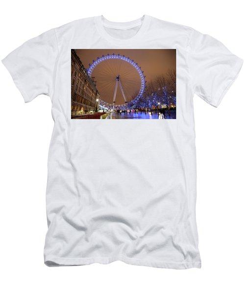 Big Wheel Men's T-Shirt (Slim Fit) by David Chandler