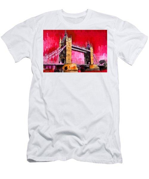 London Tower Bridge 13 - Pa Men's T-Shirt (Athletic Fit)