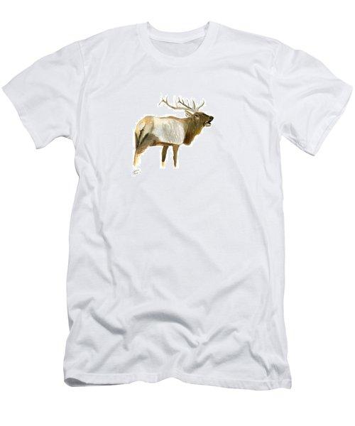 Lone Elk Men's T-Shirt (Athletic Fit)