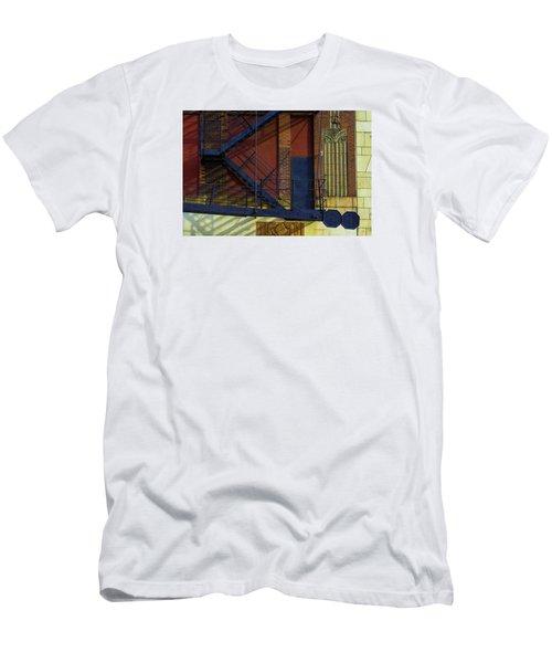 Lonely Days Parking Garage V2 Men's T-Shirt (Athletic Fit)