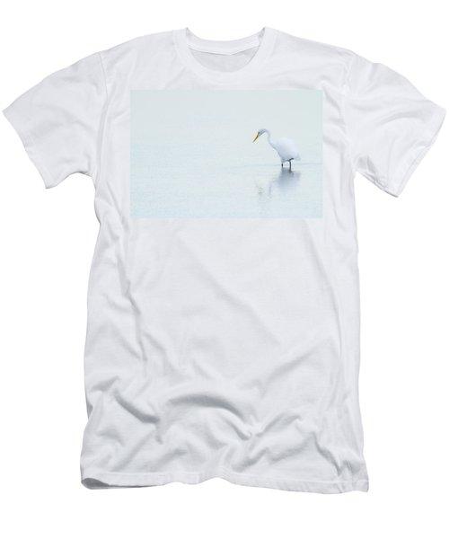 Lonely Egret Men's T-Shirt (Athletic Fit)