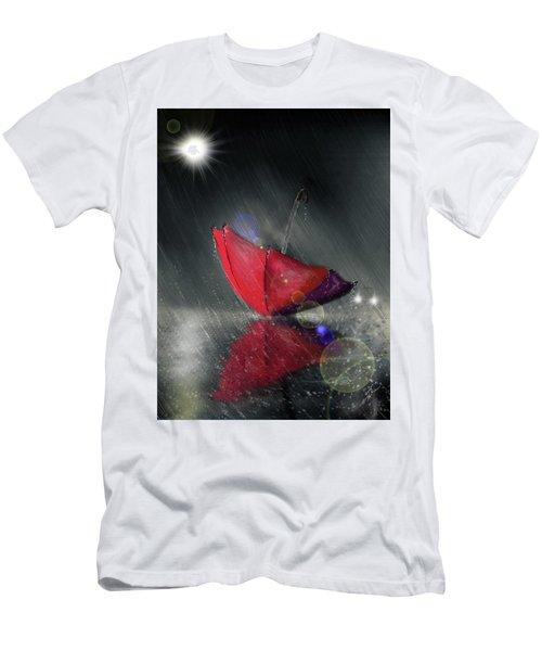 Lonely Umbrella Men's T-Shirt (Athletic Fit)