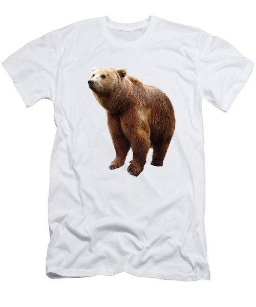 Lonesome Bear Men's T-Shirt (Athletic Fit)