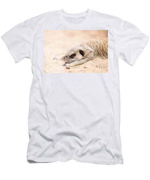 Long Day In Meerkat Village Men's T-Shirt (Athletic Fit)
