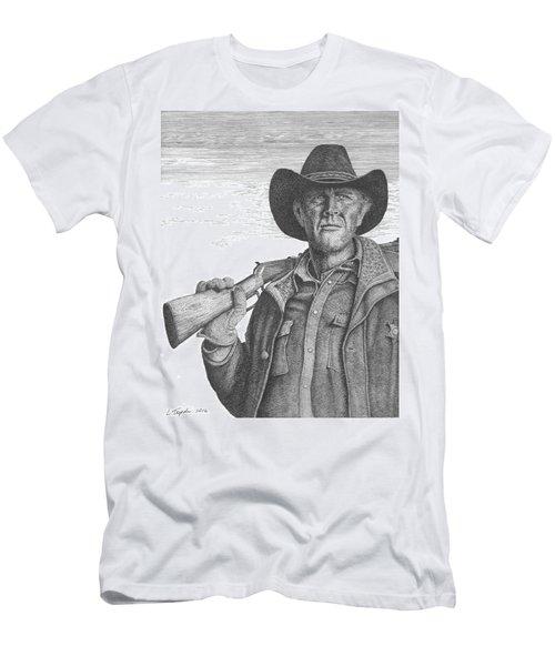 Longmire Men's T-Shirt (Slim Fit) by Lawrence Tripoli