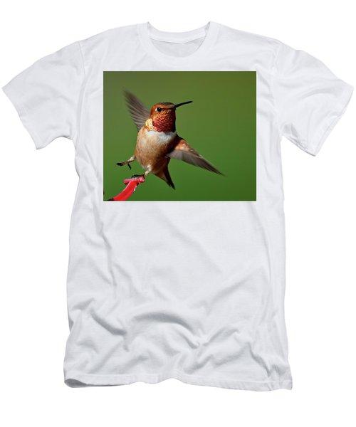 Look At Me Men's T-Shirt (Slim Fit) by Sheldon Bilsker
