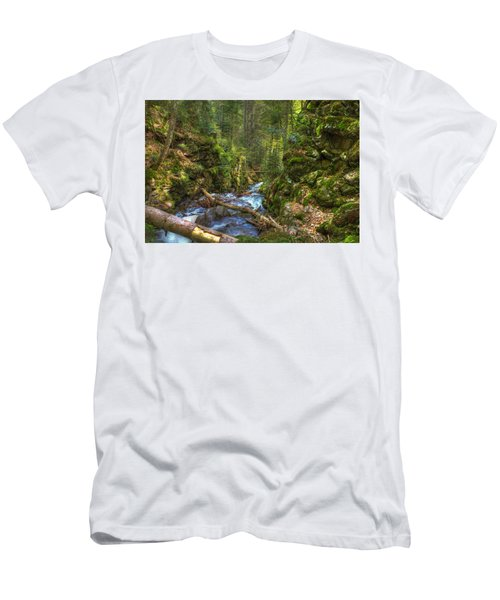 Looking Down The Gorge Men's T-Shirt (Athletic Fit)
