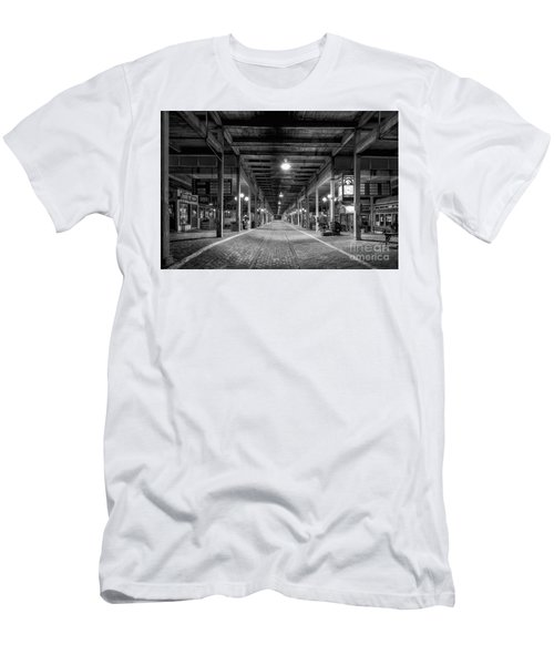 Looking Down The Tracks Men's T-Shirt (Athletic Fit)