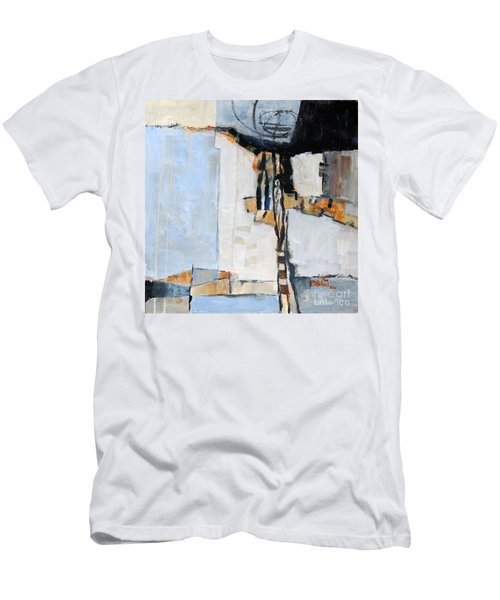 Men's T-Shirt (Slim Fit) featuring the painting Looking For A Way Out by Ron Stephens