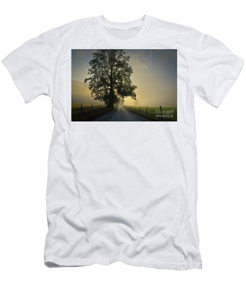 Loop Rd Sunrise Men's T-Shirt (Athletic Fit)