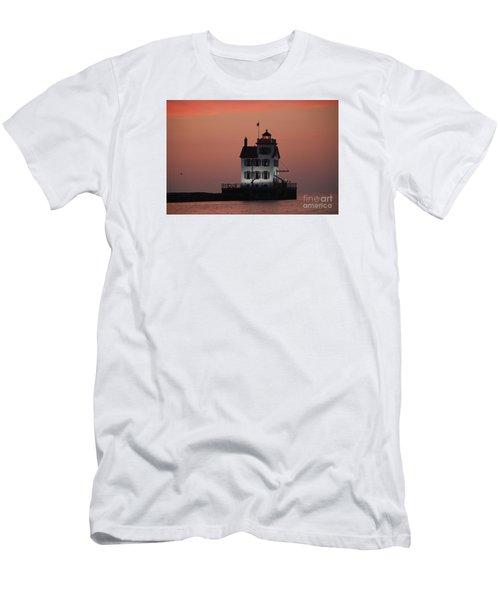 Lorain Lighthouse 1 Men's T-Shirt (Athletic Fit)