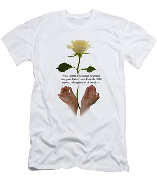 Lord, O My Soul Men's T-Shirt (Athletic Fit)
