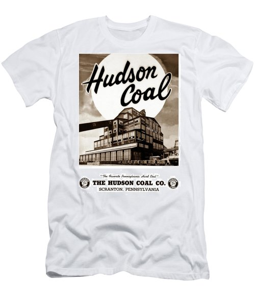 Loree Colliery Larksville Pa. Hudson Coal Co  Men's T-Shirt (Athletic Fit)