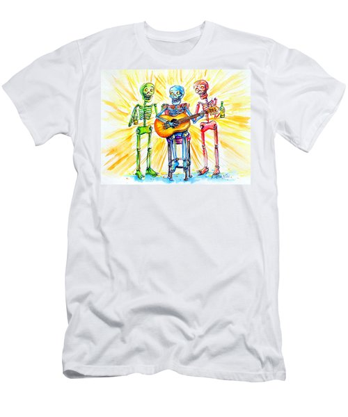 Los Tres Cantantes Men's T-Shirt (Athletic Fit)