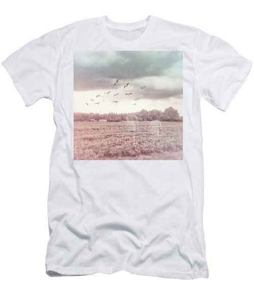 Lost In The Fields Of Time Men's T-Shirt (Athletic Fit)