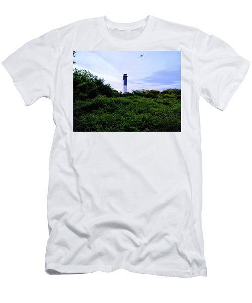 Lost Lighthouse Men's T-Shirt (Athletic Fit)