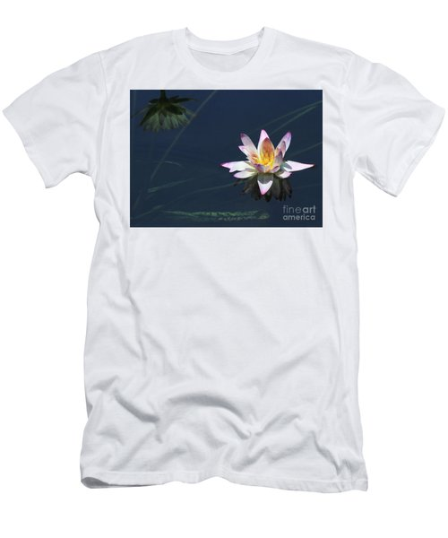 Lotus And Reflection Men's T-Shirt (Athletic Fit)