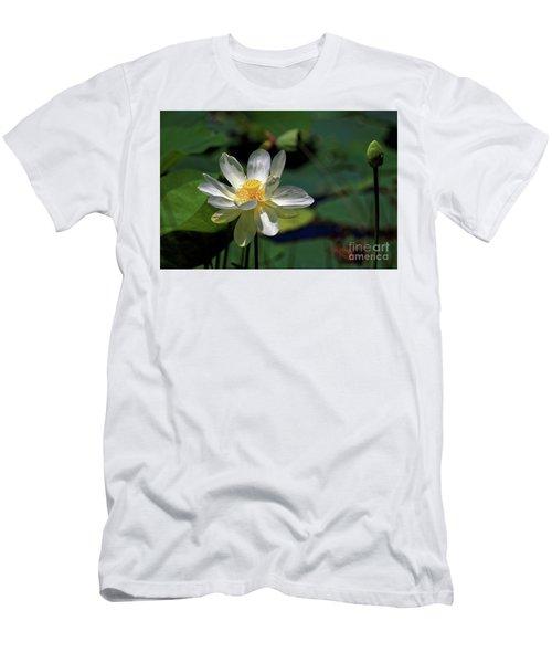 Lotus Blossom Men's T-Shirt (Slim Fit)