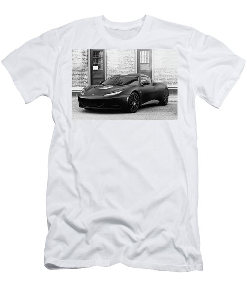 Men's T-Shirt (Slim Fit) featuring the photograph Lotus Evora by Joel Witmeyer