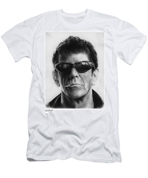 Lou Reed Men's T-Shirt (Athletic Fit)