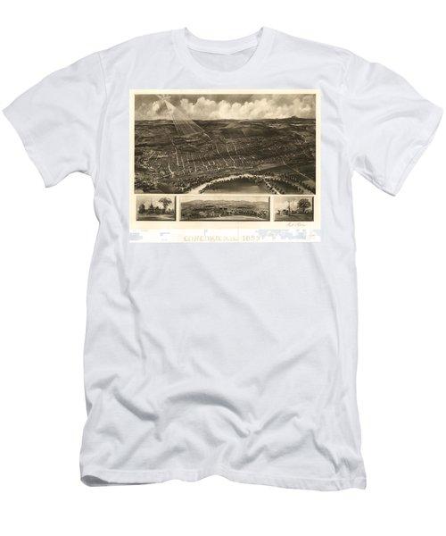 Louisville, Kentucky 1876 Men's T-Shirt (Athletic Fit)
