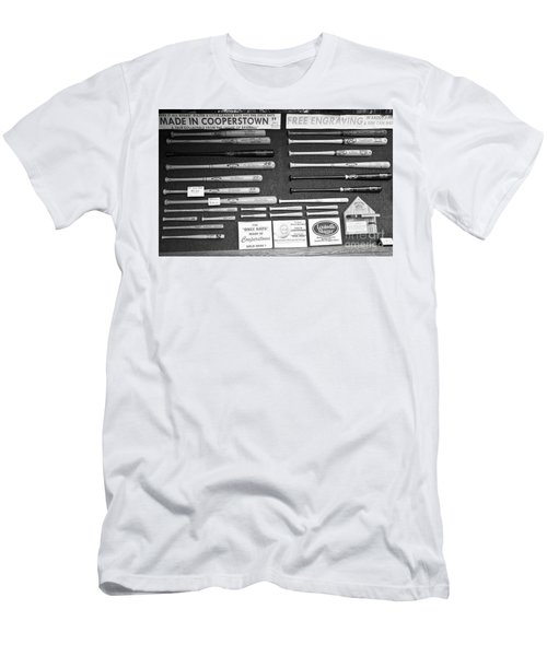 Louisville Slugger Custom Baseball Bats  Men's T-Shirt (Athletic Fit)