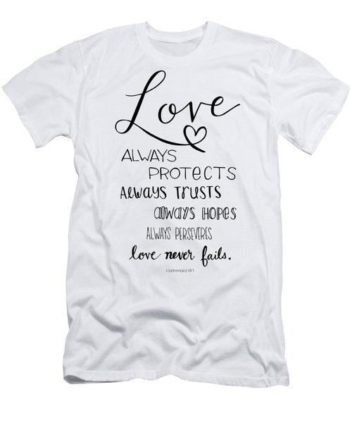 Love Always Men's T-Shirt (Athletic Fit)