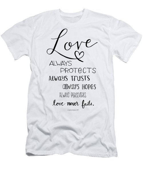 Love Always Men's T-Shirt (Athletic Fit)