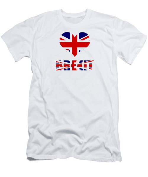 Love Brexit Men's T-Shirt (Athletic Fit)
