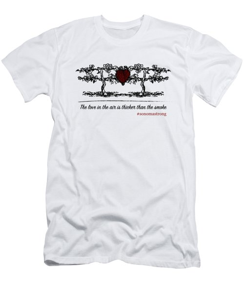 Love In The Air Men's T-Shirt (Athletic Fit)