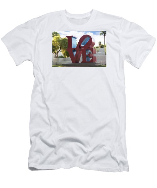 Love In The Park Men's T-Shirt (Athletic Fit)