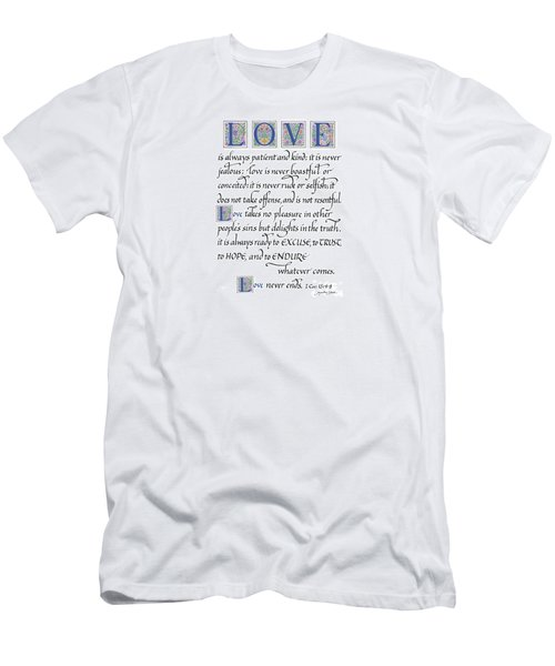 Love Is Always Patient Men's T-Shirt (Athletic Fit)