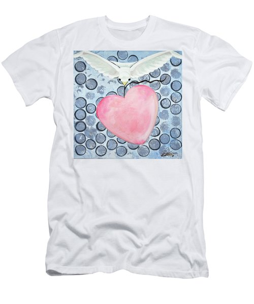 The Blessing Of The Dove Men's T-Shirt (Athletic Fit)